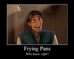 Frying Pans Motivational Poste by InfinityWayvern
