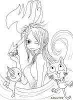 Fairy Tail - Lucy by AdrianeSM