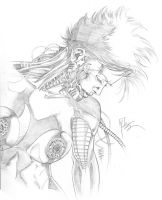 Lady Tron by 6nailbomb9