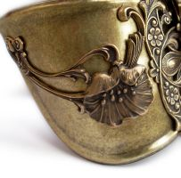 Steampunk Watch Cuff - Floral1 by Aranwen