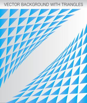 Vector Background With Triangl by dimplegal