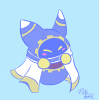 Magolor by Dededemented