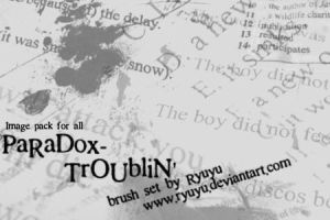 Paradox-Troublin'-image pack by ryuyu