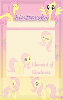 Fluttershy Journal Skin by Marcleine