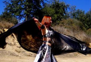 Sofia Metal Queen - belly dance with 4 yard veil by SOFIAMETALQUEEN