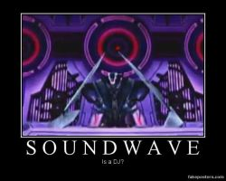 Transformers: Prime The Game Soundwave by Onikage108