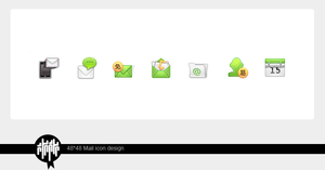Mail icon by qishui