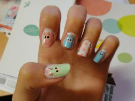 (Dodgy) Llama Nails by wushini