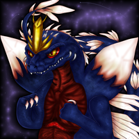 Kaiju: Space Godzilla by PlagueDogs123