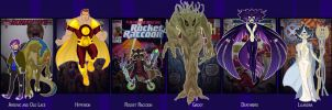 Marvel Lineup 69 by VegetarianGoat