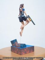 Papercraft Tomb Raider II 40 Fathoms backside by ninjatoespapercraft