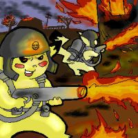 Pikachu Death Squads by DarkCloak