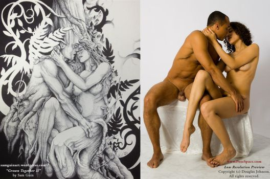 Grown Together II by Sam Guin by livemodelbooks