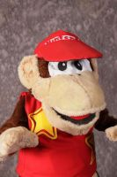 Diddy Kong Close up by MonkeyHeartless