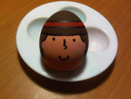 Layton Egg! by Miel110