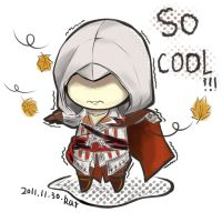 Assassin's creed 2 Ezio by xiongyuting