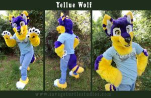 Yellue Wolf by JakeJynx