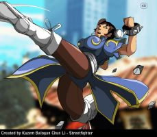 Chun Li - From a Street Fighter EX2 PLUS by Kazemb