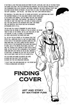 Finding Cover, Page 1 by maniacmatt