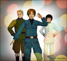 Hetalia: The Beautiful World-Mawaru Chikyuu Rondo by PatchiiHeartfilia