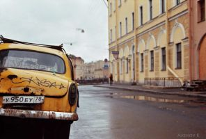 my yellow submarine by Axenov