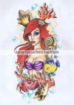 My Style Little Mermaid by Frosttattoo