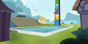 My Little Pony - Background : Olympic swimming are by Ritya9898