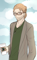 Hipster Anders by Wonderland-Cupcake