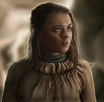 Arya Stark by hello-ground