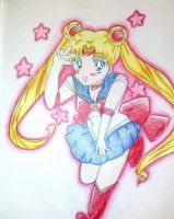Pretty sailormoon peace by Ritkasuke