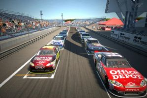 NASCAR Short Track Racing Ready To Go by Racefan2464