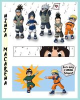 + Ninja Macarena + by Enjoumou