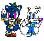 Chibi Chett and Misty:Contest: by AcetheKidd17