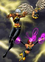 ultimate x-men collab by JamieFayX