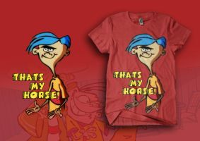 Ralf Ed Edd and Eddy Thats My Horse by Ryanboy
