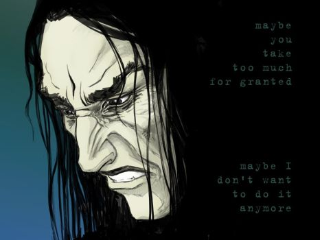 Snape by Lithrael
