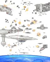 Star Wars vs Star Trek by Taggerung1