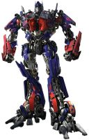 Me and my friend made Optimus Prime by 841376252