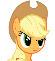 Applejack - Glare by 9x18