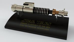 Luke Skywalker's Lightsaber by Marty--McFly