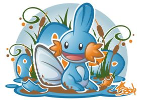 Mudkip by Star-Soul