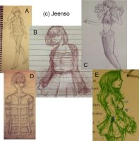 Sketch Dump C by Jeenso