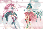 Crystalix Original Species Adopts [CLOSED] by Buujang