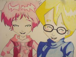Aelita and Jeremy by XxXMysticWolfxXx