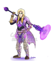 Commission: Paladin by Epifex