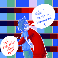Homestuck- just shut up by Eland