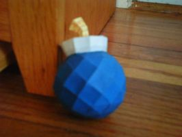 Windwaker Bomb Papercraft by Christinabean
