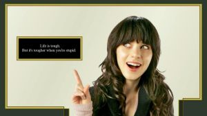 Zooey Deschannel wallpaper by TitsWiggle