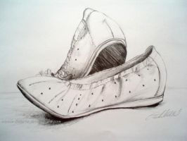 Drawing shoes by Ennete