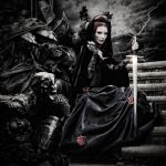 March of the Black Queen.... by alter-eye